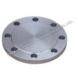 Stainless steel flange cover